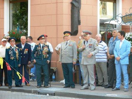 Организаторы и почетные гости, Одесса