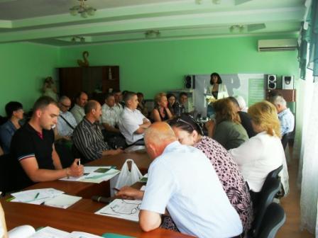 Совещание по Тилигулу, Одесса