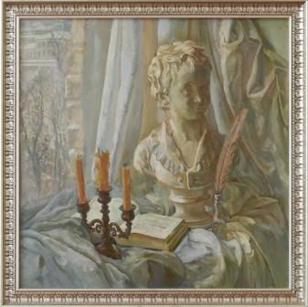 Кулагина А, Зимний натюрморт, Одесса