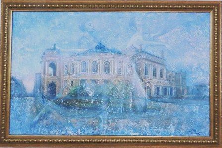 Сушельницкая И, Оперный театр, Одесса
