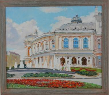 Зимовеева П. Оперный театр, Одесса